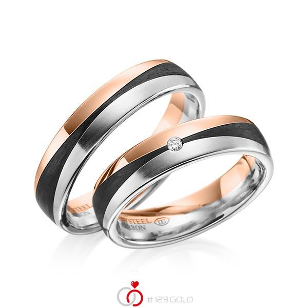 Y-1344-11 ab 1.659,00 EUR in 585/- Rotgold/ 600/- Platin/ Carbon